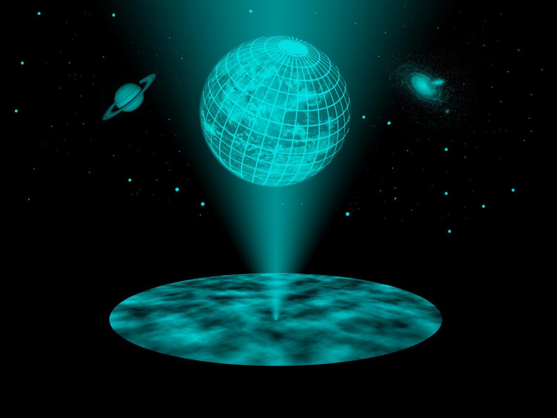 hologramă pentru vedere prepeliță și vedere