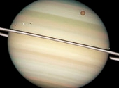 Tranzit sateliti Saturn