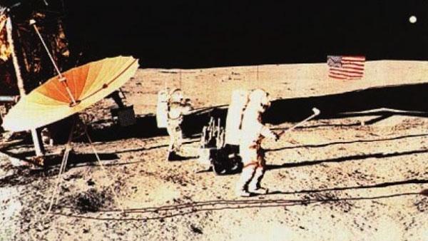 Golf pe Lună