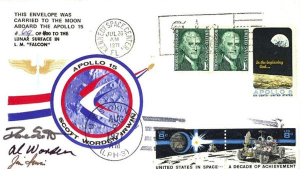 Cărţi poştale Lună