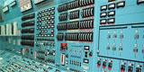 Centrala nucleară - panou de comandă