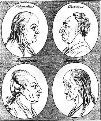 Cele patru temperamente