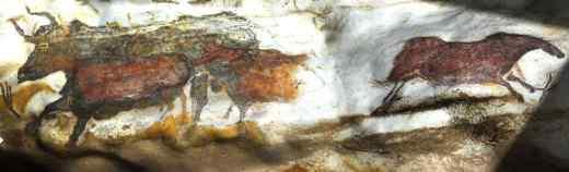 Detalii peştera Lascaux